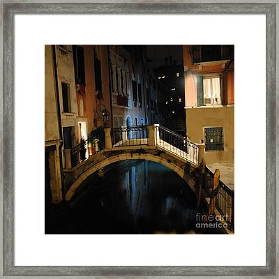 Accademia Charm Framed Print by Jacqueline M Lewis
