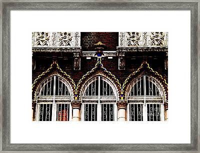 Accentuated Arches Framed Print by James Aiken