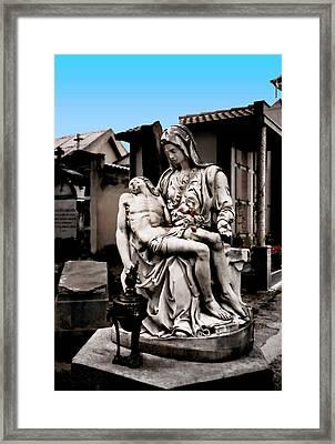 Accepting Fate  Framed Print