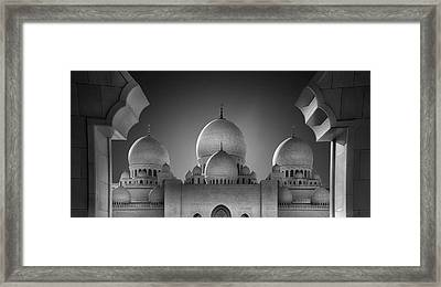Access To Heavens 2 Framed Print