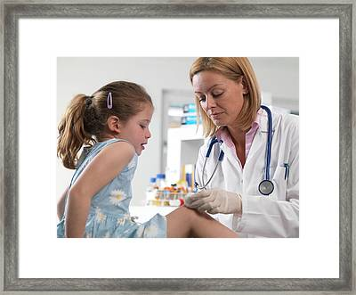 Accident Clinic Framed Print by Tek Image