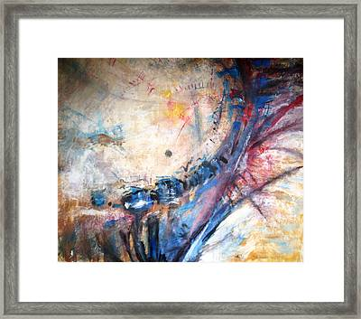 Accident Framed Print by John Fish