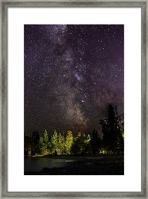 Accidental Illumination Chippewa Road Beach Framed Print