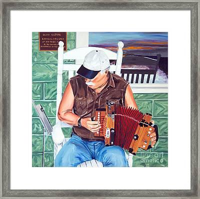 Accorance Man Framed Print