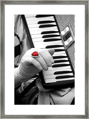 Accordion Framed Print by Paul Wash