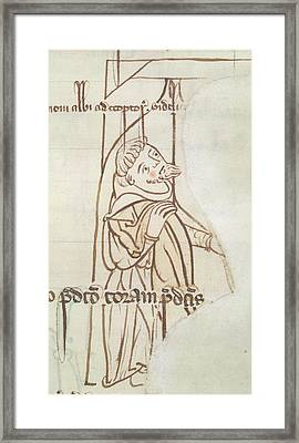 Account-book Of Beaulieu Abbey Framed Print by British Library