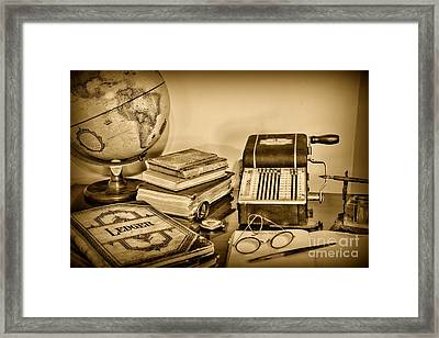 Accountant - It's All About The Numbers Framed Print by Paul Ward