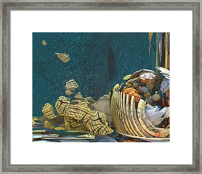 Accretion Framed Print