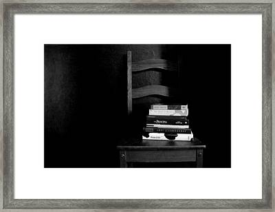 Accumulation Of Thought Framed Print by Anthony Slade