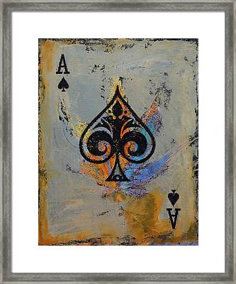 Ace Framed Print by Michael Creese