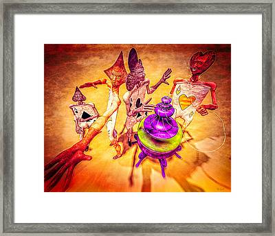 Aces High Framed Print by Bob Orsillo