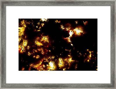 Na 55 Distant Lights Framed Print