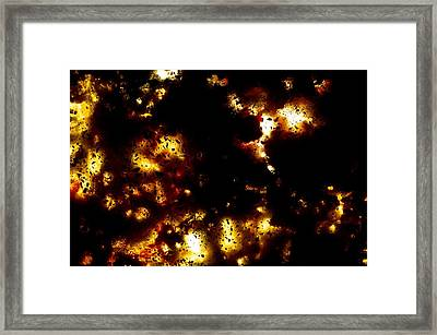 Na 55 Distant Lights Framed Print by Kika Pierides