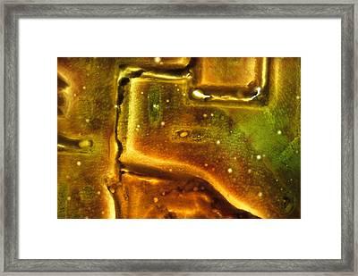 Na_18 Subterranean Framed Print by Kika Pierides