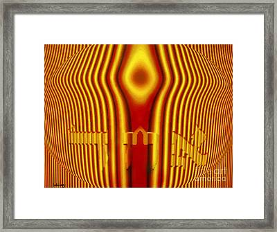 Achad And The Premordial Light Framed Print