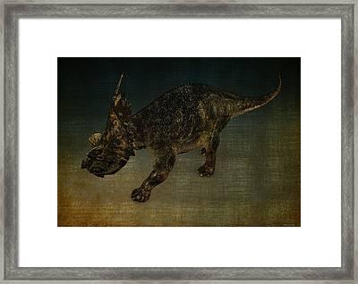 Achelosaurus Framed Print