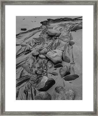 Achnahaird Beach Bw Framed Print