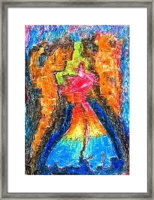 Achtung Framed Print by Yuri Lushnichenko