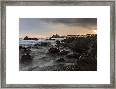 Acicastello Framed Print