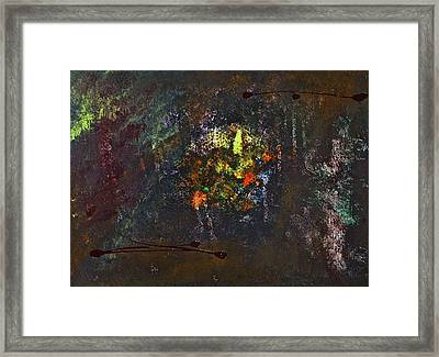 Framed Print featuring the painting Acid Burn by Tracey Myers