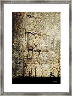 Framed Print featuring the photograph Acid Rain by Chris Armytage