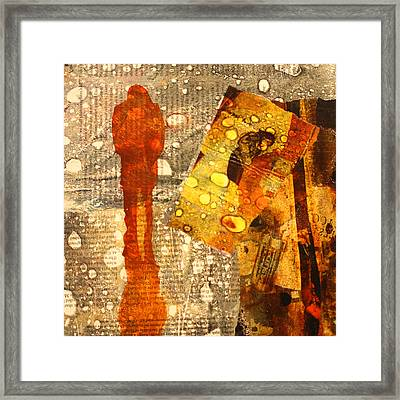 Acid Rain Framed Print by Nancy Merkle