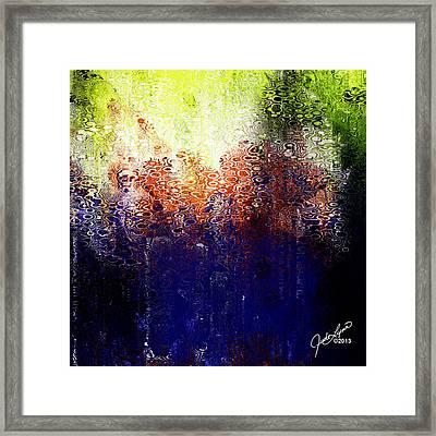 Acid Rain Framed Print