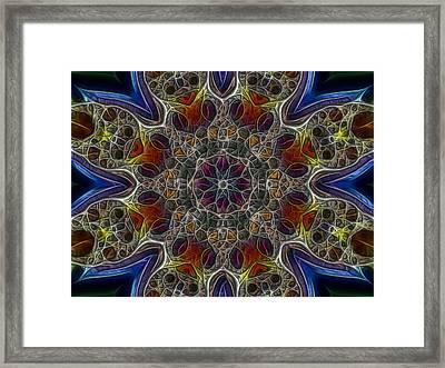 Acid Rock 1 Framed Print by Larry Capra