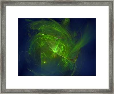 Acidic Voulge Framed Print