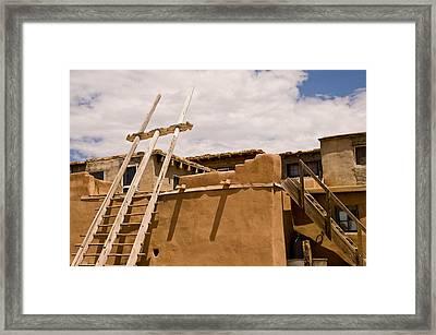 Acoma Building Framed Print