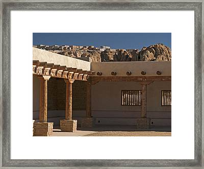 Acoma Old And New Framed Print by Jennifer Nelson