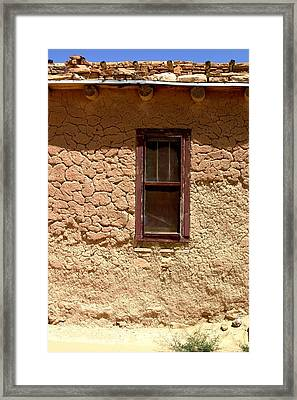 Acoma Pueblo Framed Print by Joe Kozlowski
