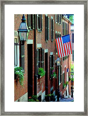 Acorn Street Two Framed Print