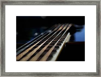 Acoustic Bokeh Framed Print