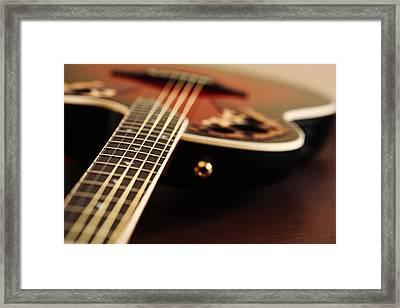 Acoustic Class Framed Print