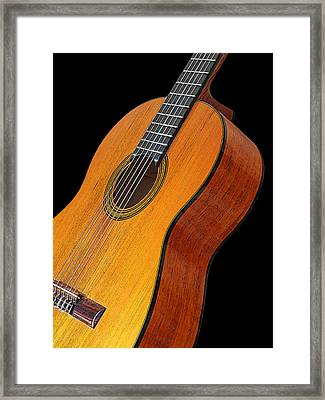 Acoustic Guitar Framed Print