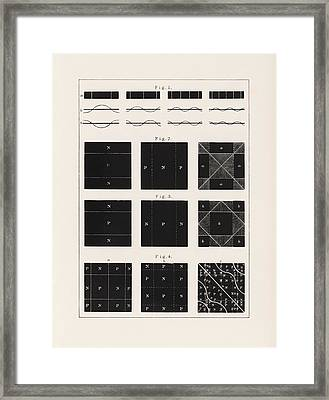 Acoustic Vibration Patterns, 19th Framed Print by Science Photo Library
