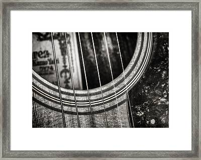 Acoustically Speaking Framed Print