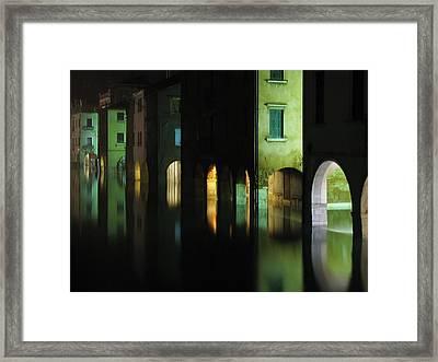 Acqua Alta Framed Print by Mattia Oselladore