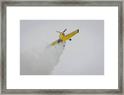 Aerobatics At Cuatro Vientos II Framed Print