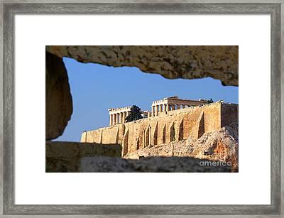 Acropolis Framed Print by Holger Ostwald