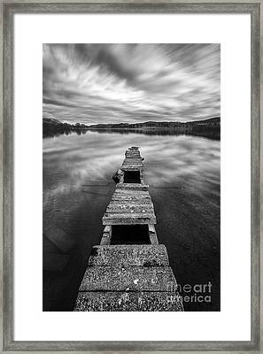 Across Framed Print