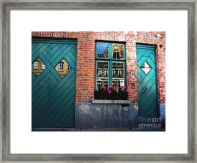Across The Avenue Framed Print by Barbara D Richards