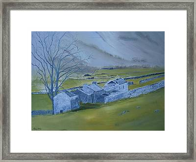 Across The Dales Framed Print by Andy Davis