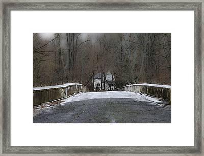 Across The Eight Arch Bridge - Bucks County Pa Framed Print by Bill Cannon