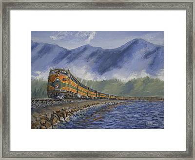 Across The Great Northwest Framed Print by Christopher Jenkins