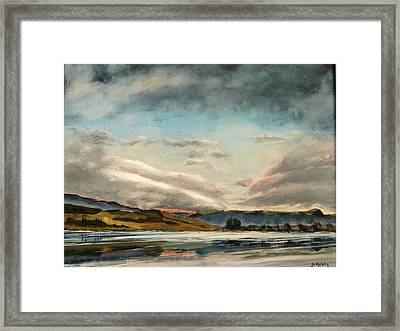 Across The Loch Framed Print
