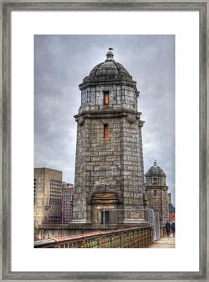 Across The Longfellow Bridge - Boston Framed Print