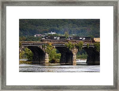 Across The Rockville Framed Print