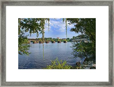 Across The Tennessee Framed Print
